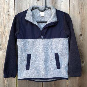 Crewcuts Boys 1/4 Zip Sweater
